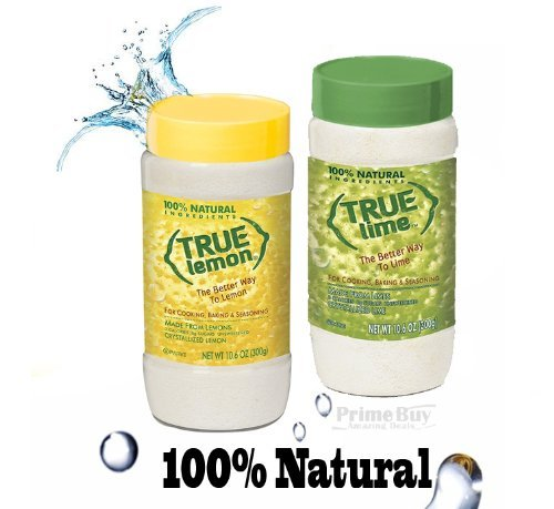 True Lemon & True Lime Shaker 10.6Oz Each (2Pk)