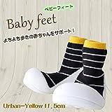 ベビーフィート ベビーシューズ スニーカー baby feet (11.5cm, アーバン イエロー(11))