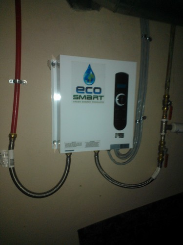 Electric Water Heaters Ecosmart Tankless Electric Water