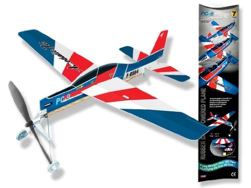 White Wings Aerobic Jet Rubberband Powered Plane