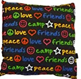 Black Graffiti Autograph Pillow -
