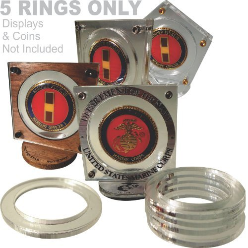1 ½ Inch Challenge Coin Adopter/reducer Rings for Gaus-usa 2