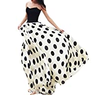 Ladies Women Maxi Chiffon Skirt Dress…