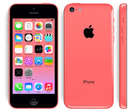 APPLE IPHONE 5C SIM FREE UNLOCKED - WHITE PINK YELLOW BLUE GREEN 16GB 32GB EXCLUSIVE BY ONLINEDISCOUNTUK (32GB... Black Friday & Cyber Monday 2014