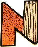 Janosch Holzbuchstabe N farblich sortiert