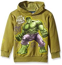 Marvel Little Boys The Incredible Hulk Wrap Arm Hoodie, Green, 6