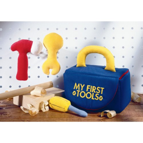 Gund: My First Tools Playset - Buy Gund: My First Tools Playset - Purchase Gund: My First Tools Playset (Gund, Toys & Games,Categories,Pretend Play & Dress-up,Sets,Construction Tools)