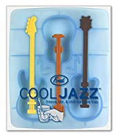 Fred and Friends COOL JAZZ Guitar Ice Tray and Stirrers by Fred
