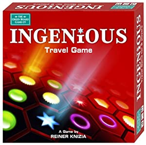 Ingenious Strategy Board Game - Travel Version by Green Board Games