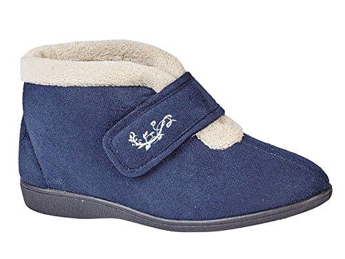 ladies-margaret-shoe-tree-wider-fit-soft-warm-fleece-orthopaedic-velour-velcro-slippers-bootie-shoe-