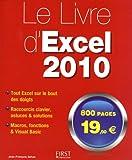 echange, troc Jean-François SEHAN - Le livre d'Excel 2010