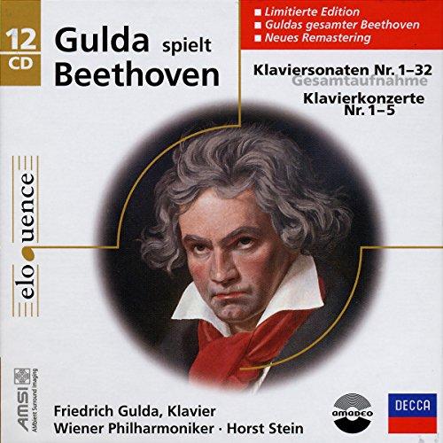 Beethoven: Piano Sonata 1 - 32, Piano Concertos 1 - 5 [Box set] (Friedrich Gulda Beethoven Sonata compare prices)