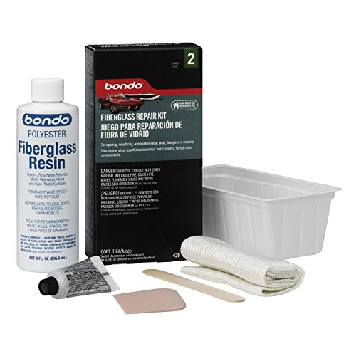 3M 420 Fiberglass Resin & Repair Kit, .45 Pint