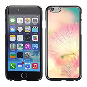 Omega Covers - Snap on Hard Back Case Cover Shell FOR Apple Iphone 6 Plus / 6S Plus ( 5.5 ) - Pink White Teal Nature Spring