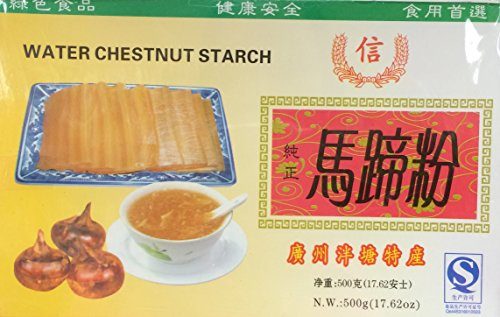 17.62oz Xin Water Chestnut Starch, Pack of 1 (Water Chestnut Flour compare prices)