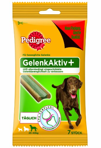 Pedigree Snacks GelenkAktiv plus gro&#223;e Hunde (&gt;40kg) 7St&#252;ck, 1er Pack (1 x 150 g)