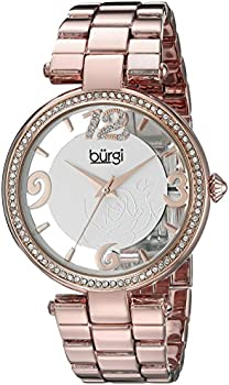 Burgi BUR148RG Womens Bracelet Watch