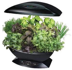 Miracle-Gro AeroGarden 7-Pod Indoor Garden with Gourmet Herb Seed Kit, Black