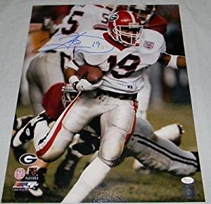 HINES WARD SIGNED AUTOGRAPHED UGA GEORGIA BULLDOGS 16x20 PHOTO - JSA Certified -... by Sports+Memorabilia
