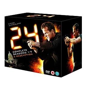 24 - Season 1-7 (Plus Redemption) [DVD]