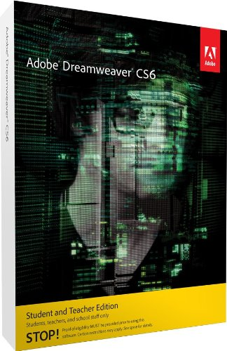 Adobe Dreamweaver CS6 Student and Teacher Edition [LEGACY VERSION]