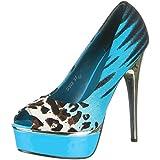 Damen Schuhe, D302, PUMPS