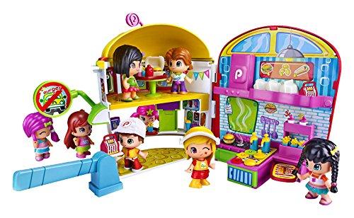 Pinypon - Playset Burger, una figura y accesorios (Famosa 700012063)