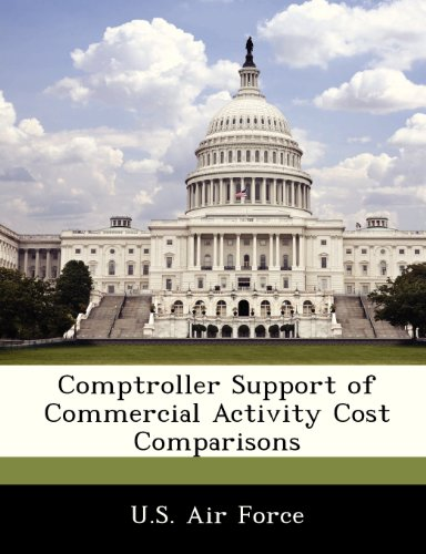 Comptroller Support of Commercial Activity Cost Comparisons PDF