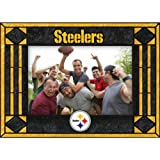 Pittsburgh Steelers Art Glass Horizontal Frame at Amazon.com