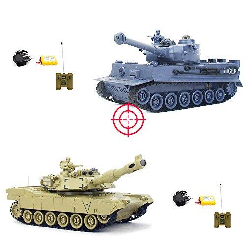 RC-PANZER-SET-GERMAN-LEOPARD-2-A5-2-x-RC-ferngesteuerter-Panzer-mit-integriertem-INFRAROT-BATTLESYSTEM-Gefechtmodi-Schusssimulation-Sound-und-Beleuchtung-KOMPLETT-SET-inkl-Fernsteuerung-Akku-und-Ladeg