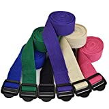 YogaAccessories-TM-6-Cinch-Buckle-Cotton-Yoga-Strap-Tan-Natural