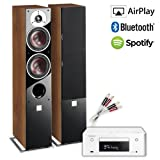 Creative Audio CA-MS39-WW Micro Stereo System (Denon RCD-N9 CEOL White + DALI ZENSOR 5 Walnut + £60 QED cable bundle). 2 Year Guarantee + Free next working day delivery (most mainland UK addresses)!