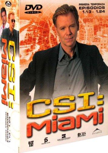 Pack Csi Miami 1ª Temporada 13 - 24 [Import espagnol]