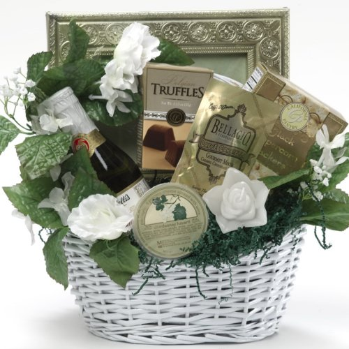Appreciation Gift Baskets Best Wishes to You Wedding Gourmet Food Gift ...