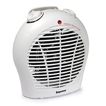 Impress Portable 1500 watt 2 Speed Fan Heater with Adjustable Thermostst Model: IM-702 Features Fan forced heat Dual heat settings (750W - 1500W) Adjustable thermostat control Overheat protection circuit 3 fan settings (fan only, low heat, high heat)...