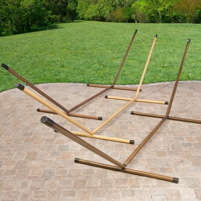 Deluxe Faux Woodgrain Hammock Stands – USI019 Review