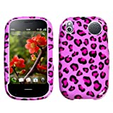 Design Hard Protector Skin Cover Cell Phone Case for Palm Pre 2 Verizon - Pink Leopard
