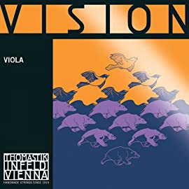 Thomastik Vision Viola Strings, Complete Set, VI200, 4/4 Size, 15