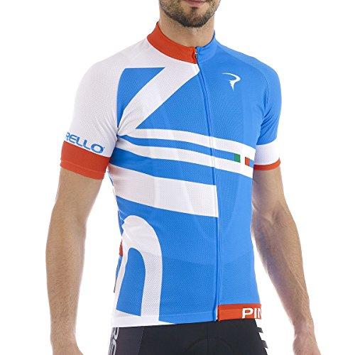 Pinarello 2015 Men's Bandiera Classic Short Sleeve Cycling Jersey - PI-S5-SSJY-BAND