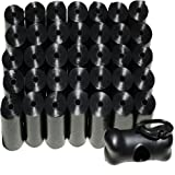 700 Poop Bag Shop Dog Waste Bags, Durable Premium Bulk Refill Rolls, Black Color Pack + Leash Bone Dispenser