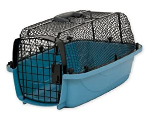 Petmate Look N See Kennel for Pets Up to 10-Pound, Pearl Waterfall