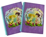 Disney Spiral Notebooks 5x7-fairies