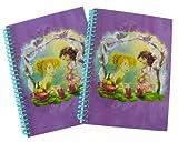 Disney Spiral Notebooks 5x7-fairies