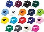 Custom Printed Baseball Cap