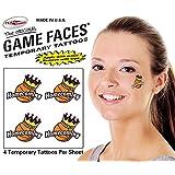 Basketball Homecoming Temporary Tattoos 25 Sheets