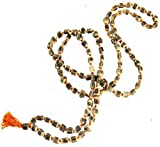 TULSI 108 MALA PRAYER BEADS ~ Meditation Rosary w/ Zippered Mantra Mala Pouch