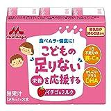 森永 こどもの「足りない」を応援する イチゴ&ミルク ドリンクタイプ (125ml×3本)×8個