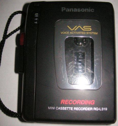 Panasonic Cassette Recorder RQ-L319