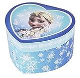 """Trousselier caja de joyería caja de música """"Frozen Elsa Snow Queen"""" en una forma de corazón"""