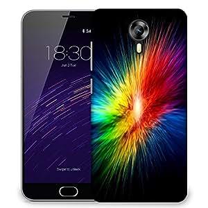 Snoogg Supernova Rainbow Explosion Designer Protective Phone Back Case Cover For Meizu M2